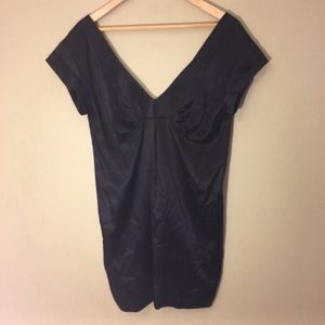 See By Chloe Black Silk Mini Dress NWOT